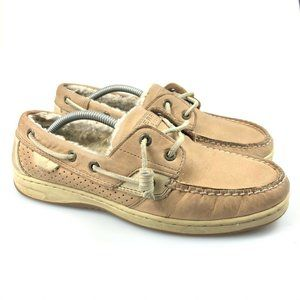Sperry Womens Fur Lined 2-Eye 9835703 Boat Shoes